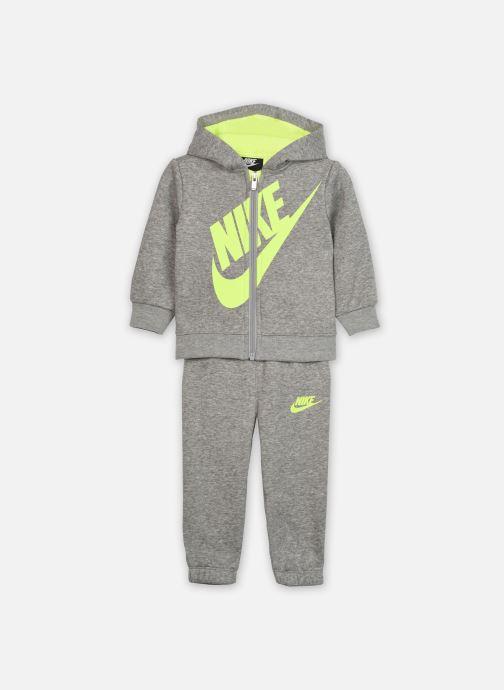 Vêtements Nike Sueded Fleece Futura Jogger Set Gris vue détail/paire