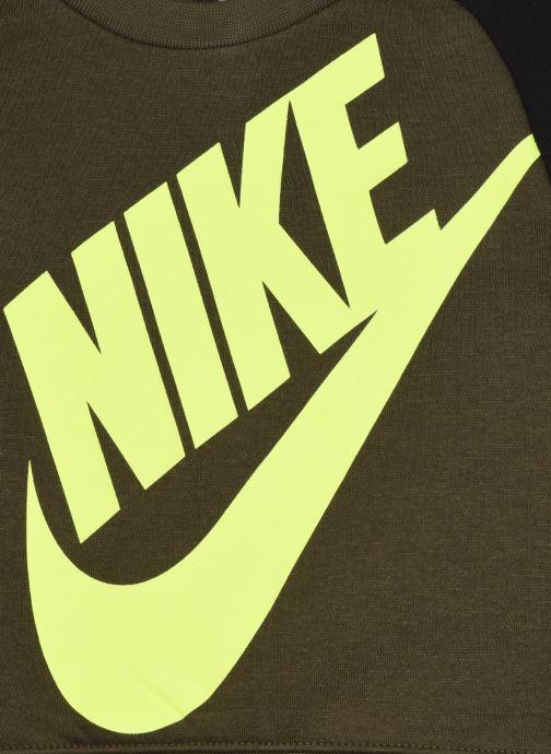 Vêtements Nike Oversized Futura Crew Set Vert vue face