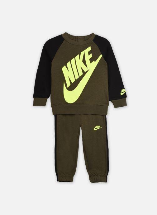Vêtements Nike Oversized Futura Crew Set Vert vue détail/paire