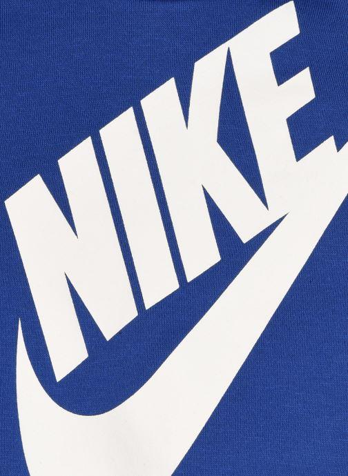 Vêtements Nike Oversized Futura Crew Set Bleu vue face
