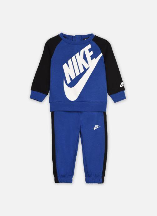 Vêtements Nike Oversized Futura Crew Set Bleu vue détail/paire