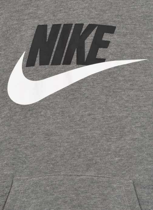 Vêtements Nike Club Hbr Po Gris vue face
