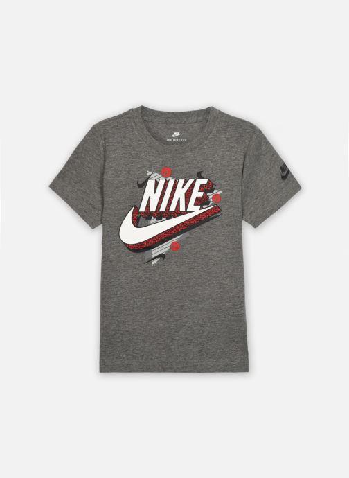 Vêtements Nike 90'S Beach Party S/S Tee Gris vue détail/paire