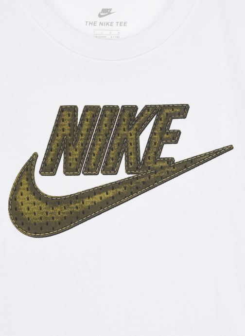 Vêtements Nike Faux Jersey Mesh Futura S/S Tee Blanc vue face