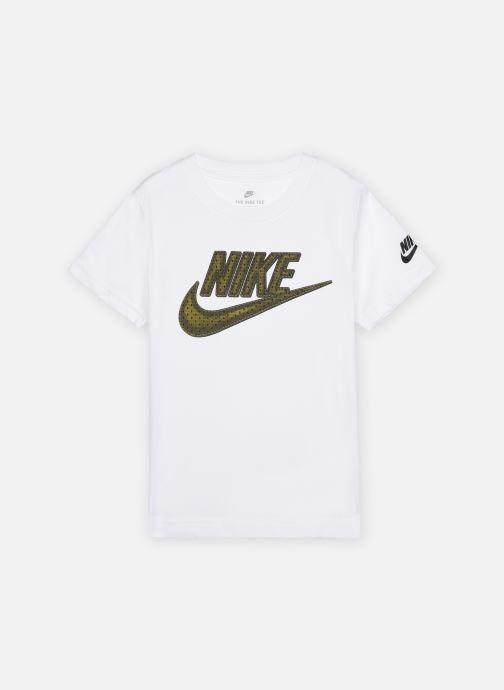 Vêtements Nike Faux Jersey Mesh Futura S/S Tee Blanc vue détail/paire