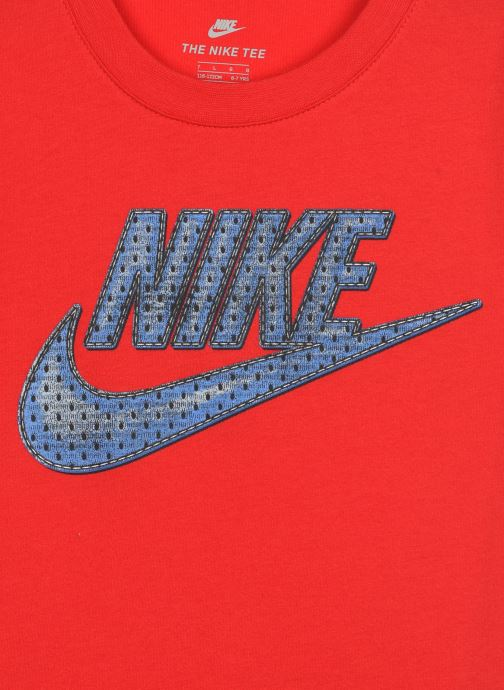 Vêtements Nike Faux Jersey Mesh Futura S/S Tee Rouge vue face
