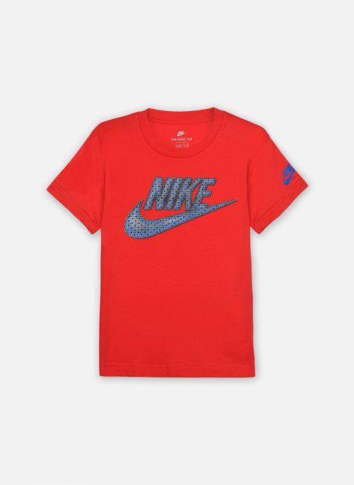 Vêtements Nike Faux Jersey Mesh Futura S/S Tee Rouge vue détail/paire