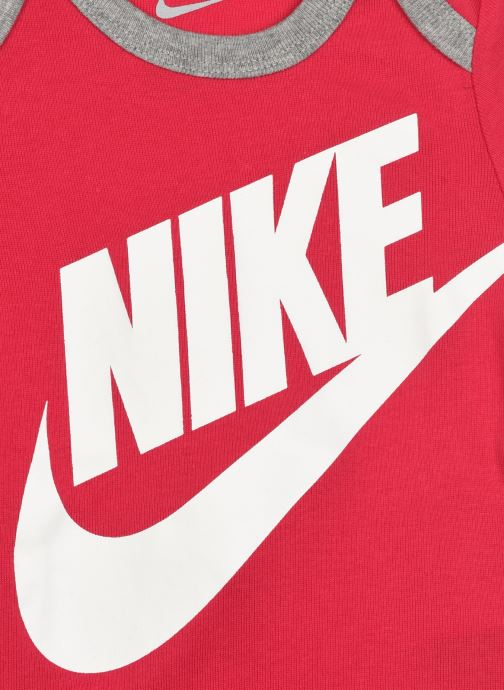 Vêtements Nike Futura Logo HatBodysuitBootie 3Pc Rose vue face