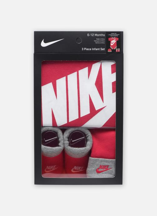 Vêtements Nike Futura Logo HatBodysuitBootie 3Pc Rose vue gauche