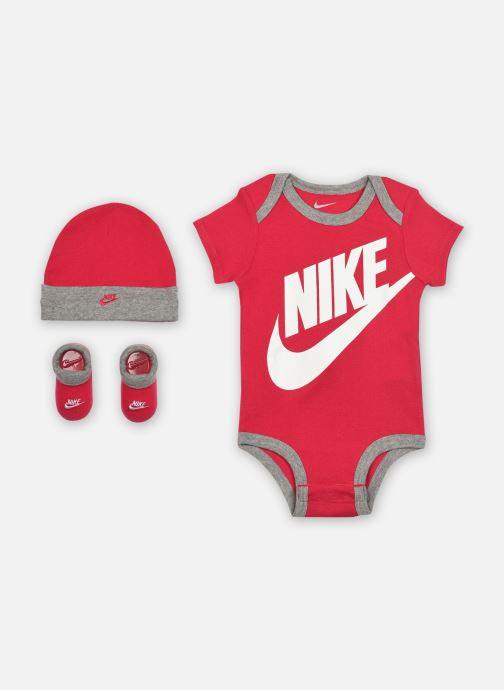 Vêtements Nike Futura Logo HatBodysuitBootie 3Pc Rose vue détail/paire
