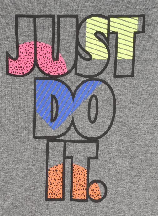 Vêtements Nike Jdi Fleece Crew Set Gris vue face