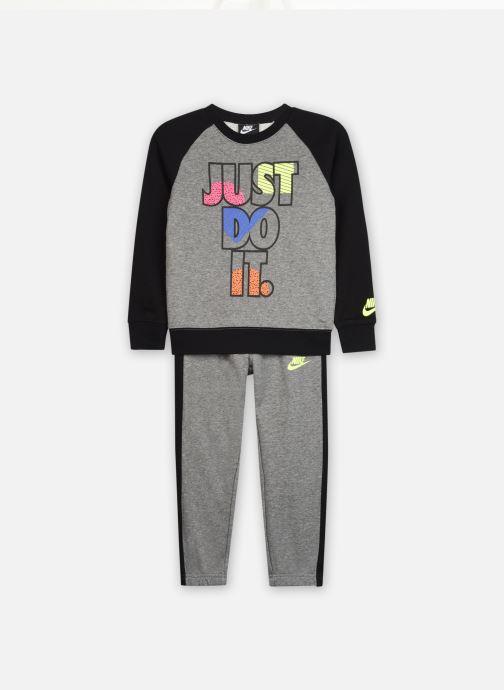 Vêtements Nike Jdi Fleece Crew Set Gris vue détail/paire