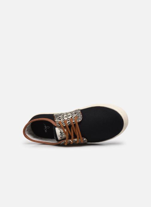 Sneaker N'go An Binh W schwarz ansicht von links
