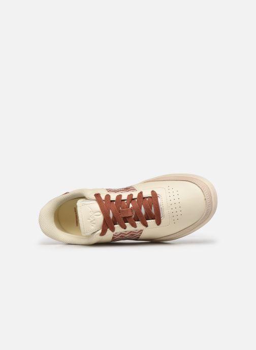 Sneaker N'go Ben Thanh W weiß ansicht von links
