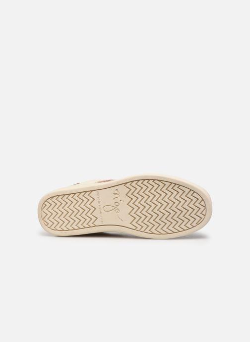 Sneaker N'go Ben Thanh W weiß ansicht von oben