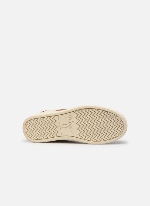 Sneaker N'go Da Lat W weinrot ansicht von oben