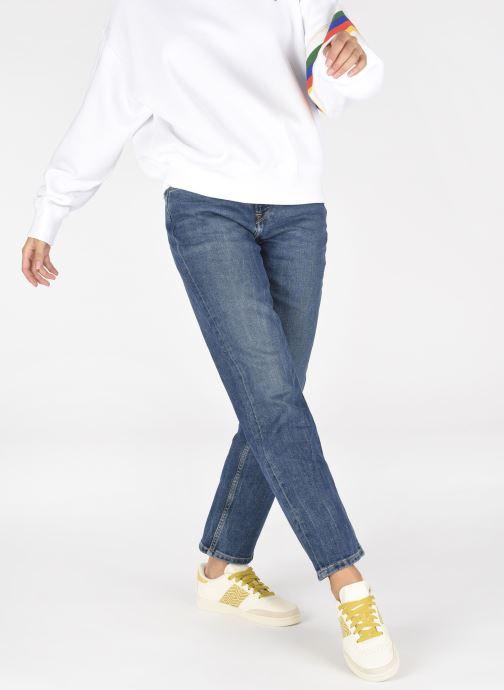 Sneaker N'go Ha Giang W gelb ansicht von unten / tasche getragen
