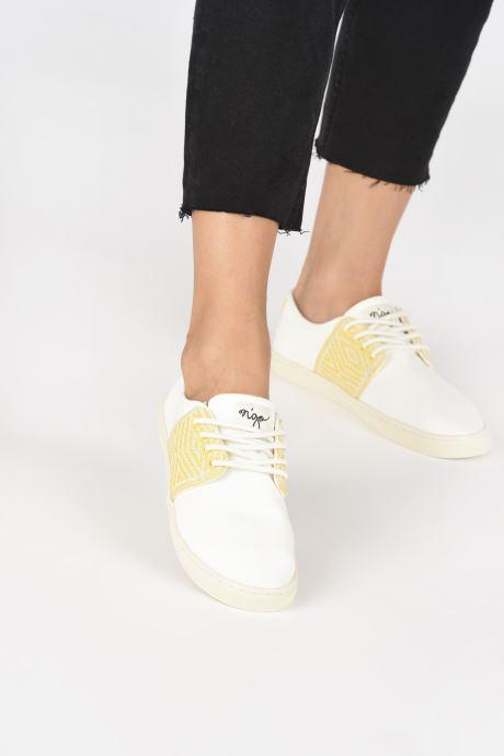 Sneakers N'go Mui Ne W Hvid se forneden