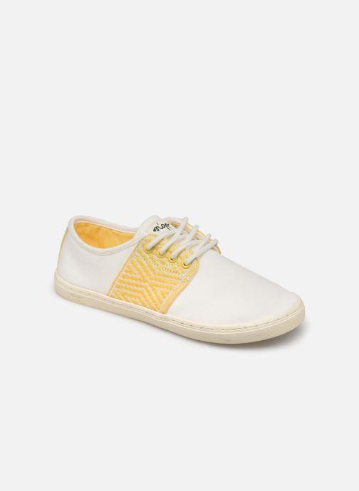 Sneakers N'go Mui Ne W Hvid detaljeret billede af skoene