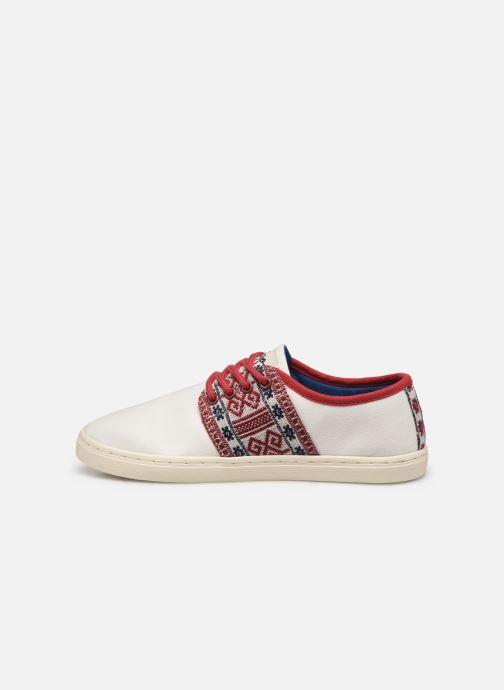 Sneaker N'go Phu Quoc W weiß ansicht von vorne