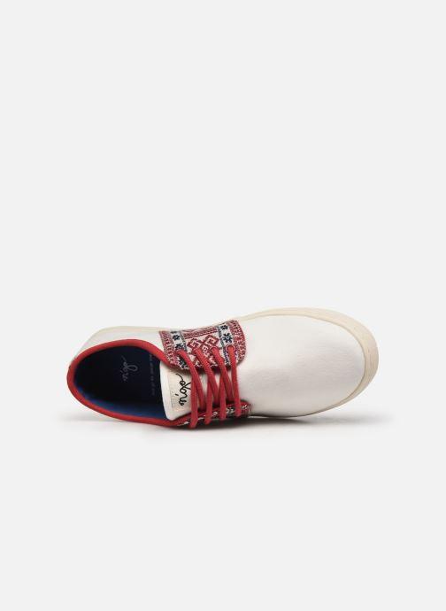 Sneaker N'go Phu Quoc W weiß ansicht von links
