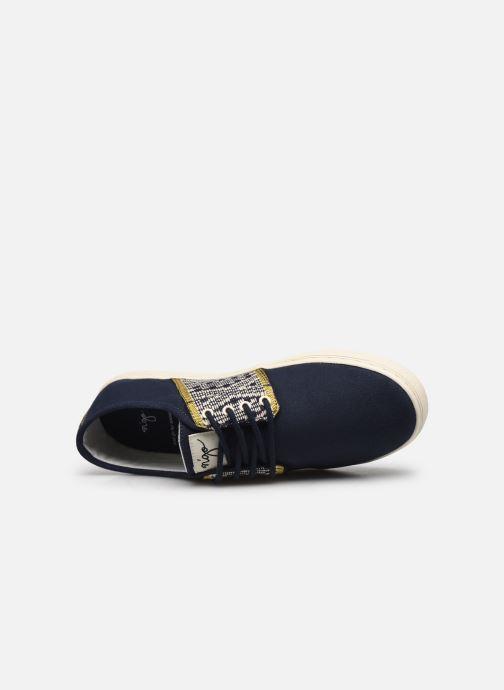 Sneaker N'go Da Nang M blau ansicht von links
