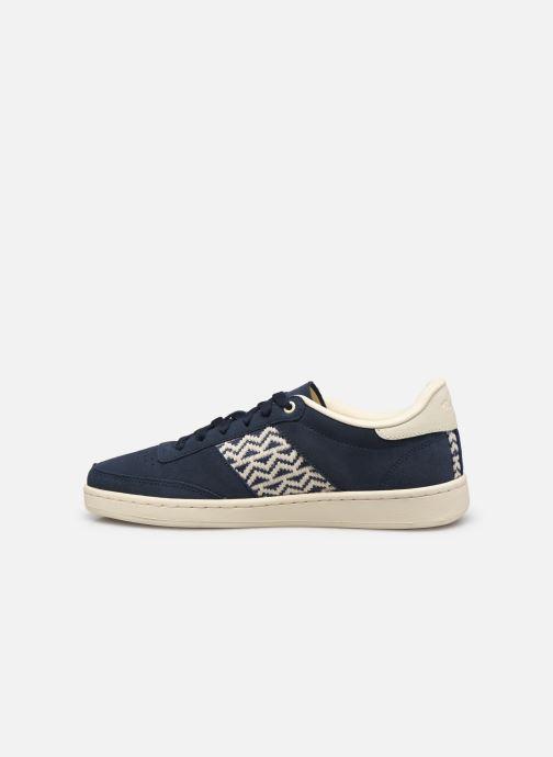 Sneaker N'go Ha Long M blau ansicht von vorne