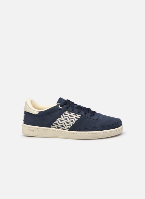 Sneaker N'go Ha Long M blau ansicht von hinten