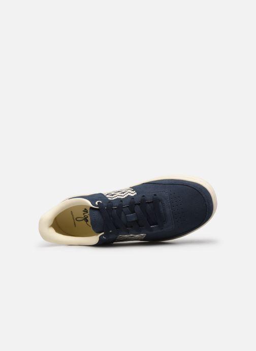 Sneaker N'go Ha Long M blau ansicht von links