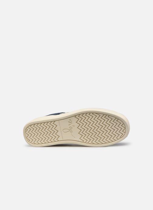 Sneaker N'go Ha Long M blau ansicht von oben