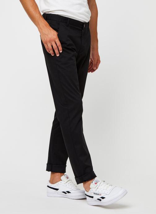 Vêtements Farah Elm Chino Twill, Ff Trs Noir vue détail/paire