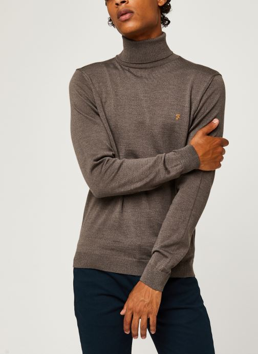 Gosforth - Merino Roll Neck