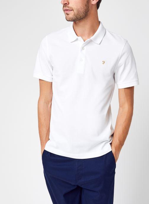 Vêtements Farah Blanes Ss Polo Blanc vue détail/paire