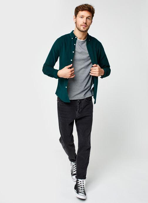 Vêtements Farah Fontella Cord Ls Slm Bd Vert vue bas / vue portée sac