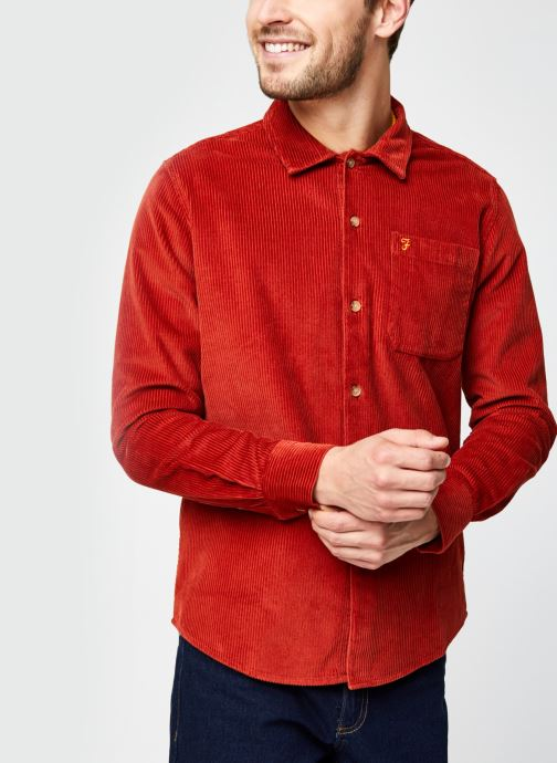 Wyman Ls Cord Shirt