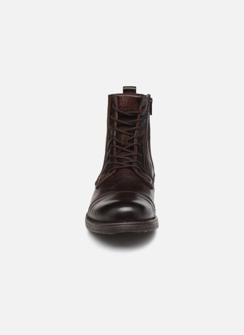 Bottines et boots Jack & Jones Jfw Russel Leather Marron vue portées chaussures