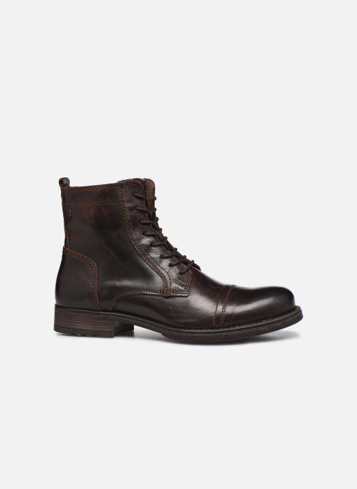 Bottines et boots Jack & Jones Jfw Russel Leather Marron vue derrière