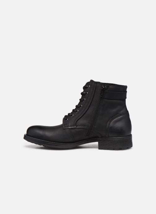 Bottines et boots Jack & Jones Jfw Angus Leather Gris vue face