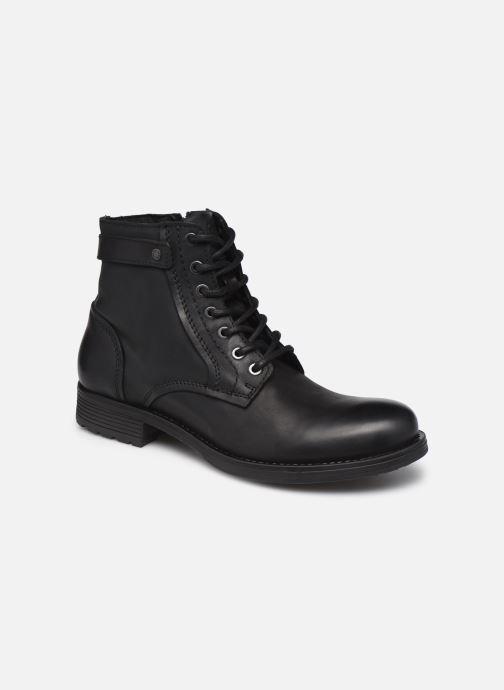 Bottines et boots Jack & Jones Jfw Angus Leather Gris vue détail/paire