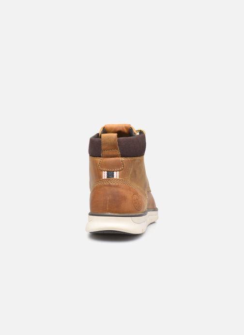 Bottines et boots Jack & Jones Jfw Tubar Leather Marron vue droite