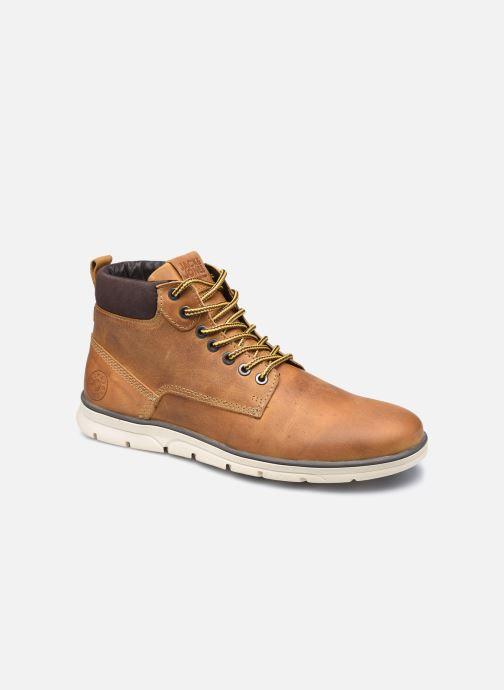 Bottines et boots Jack & Jones Jfw Tubar Leather Marron vue détail/paire