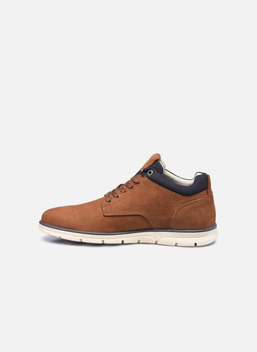 Botines  Jack & Jones Jfw Henessy Leather/Nubuck Marrón vista de frente