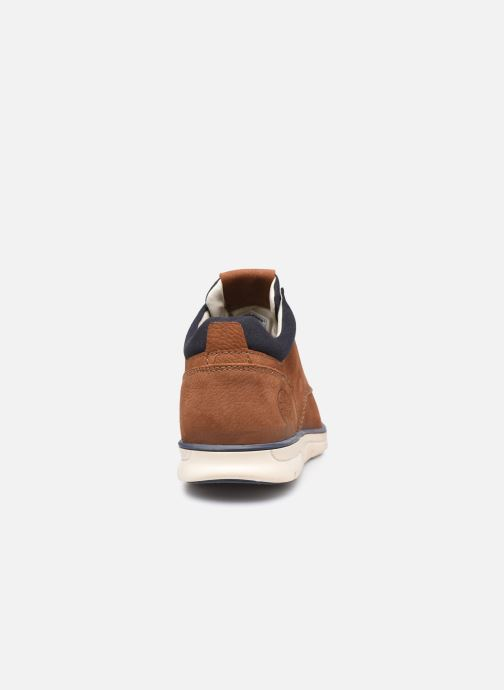 Botines  Jack & Jones Jfw Henessy Leather/Nubuck Marrón vista lateral derecha