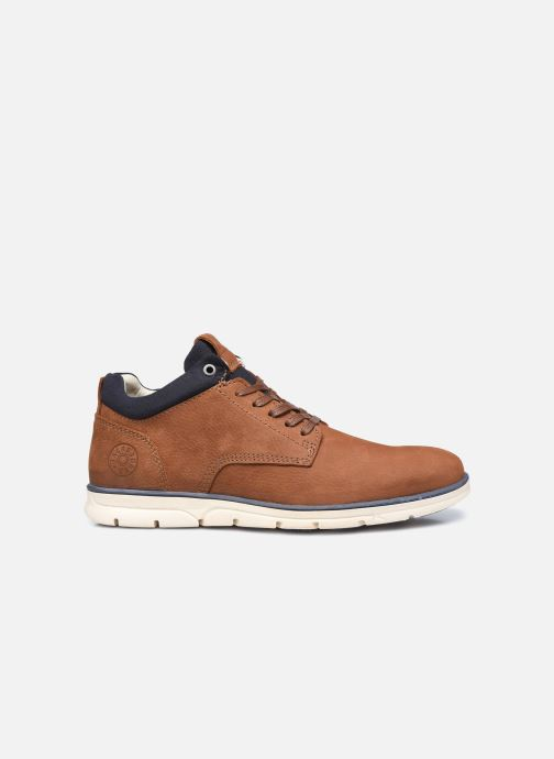 Botines  Jack & Jones Jfw Henessy Leather/Nubuck Marrón vistra trasera