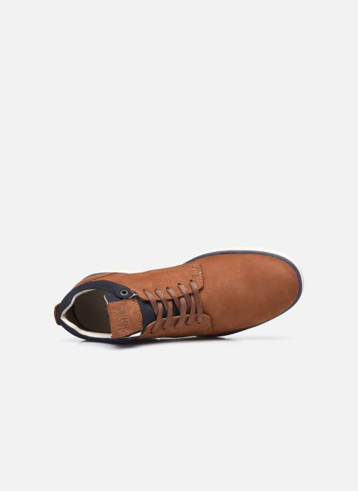 Botines  Jack & Jones Jfw Henessy Leather/Nubuck Marrón vista lateral izquierda