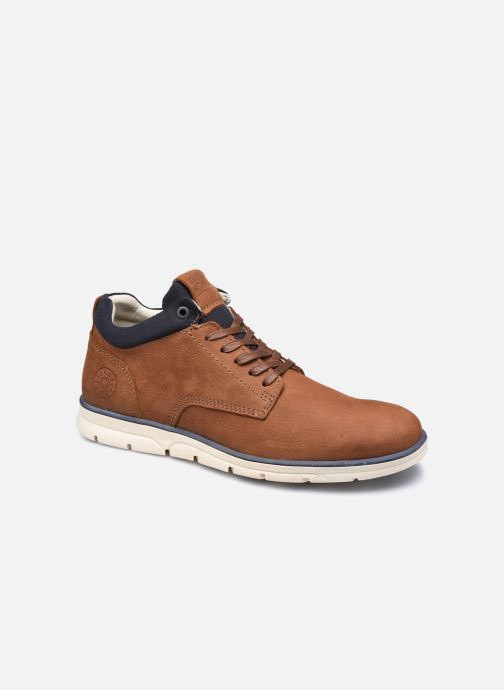 Botines  Jack & Jones Jfw Henessy Leather/Nubuck Marrón vista de detalle / par