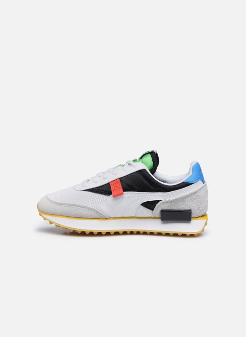 Baskets Puma F Rider Unity Collection Blanc vue face