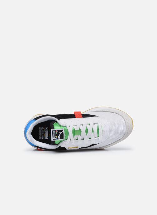 Sneakers Puma F Rider Unity Collection Bianco immagine sinistra