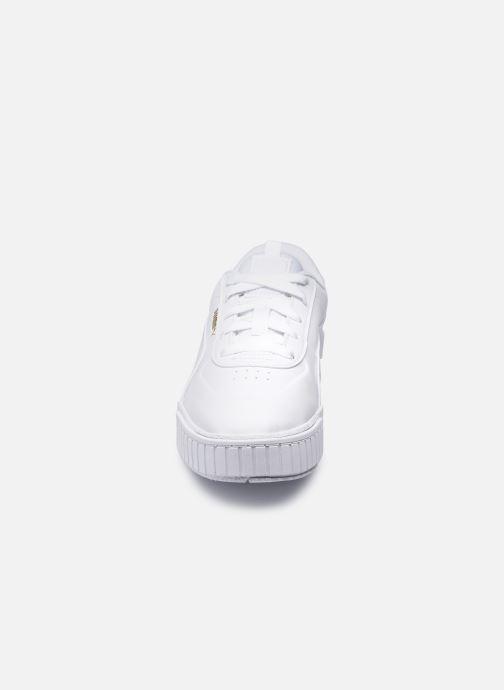 Baskets Puma Cali Sport Blanc vue portées chaussures