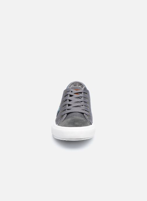 Baskets Kaporal Yoan Gris vue portées chaussures